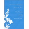 Blue Paper Wedding Invitation
